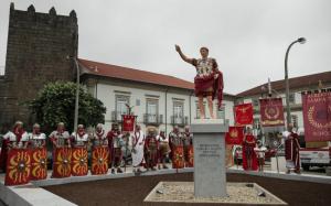 Augusto de Prima Porta policromado de Braga, Portugal.